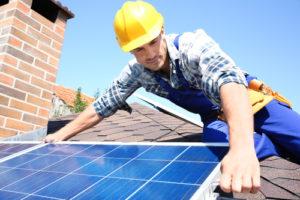 太陽光発電のパネル設置工事