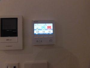 発電モニター(壁付けタイプ)