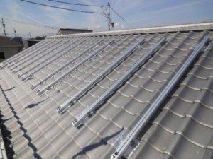 太陽光発電パネルの架台